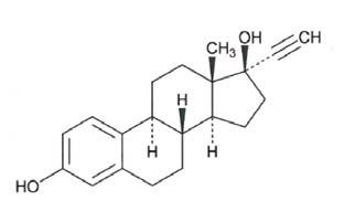 Description: Ethinyl Estradiol Structure