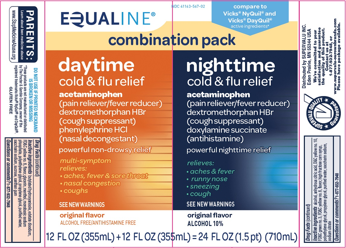 Equaline Daytime Nighttime Cold and Flu Relief Image 1