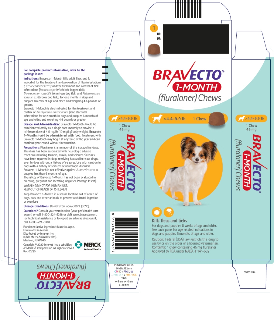 PRINCIPAL DISPLAY PANEL - 45 mg Chew Blister Pack Carton