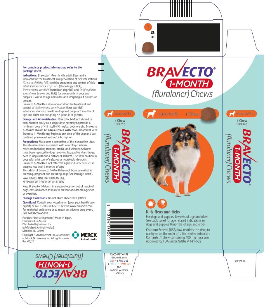 PRINCIPAL DISPLAY PANEL - 100 mg Chew Blister Pack Carton