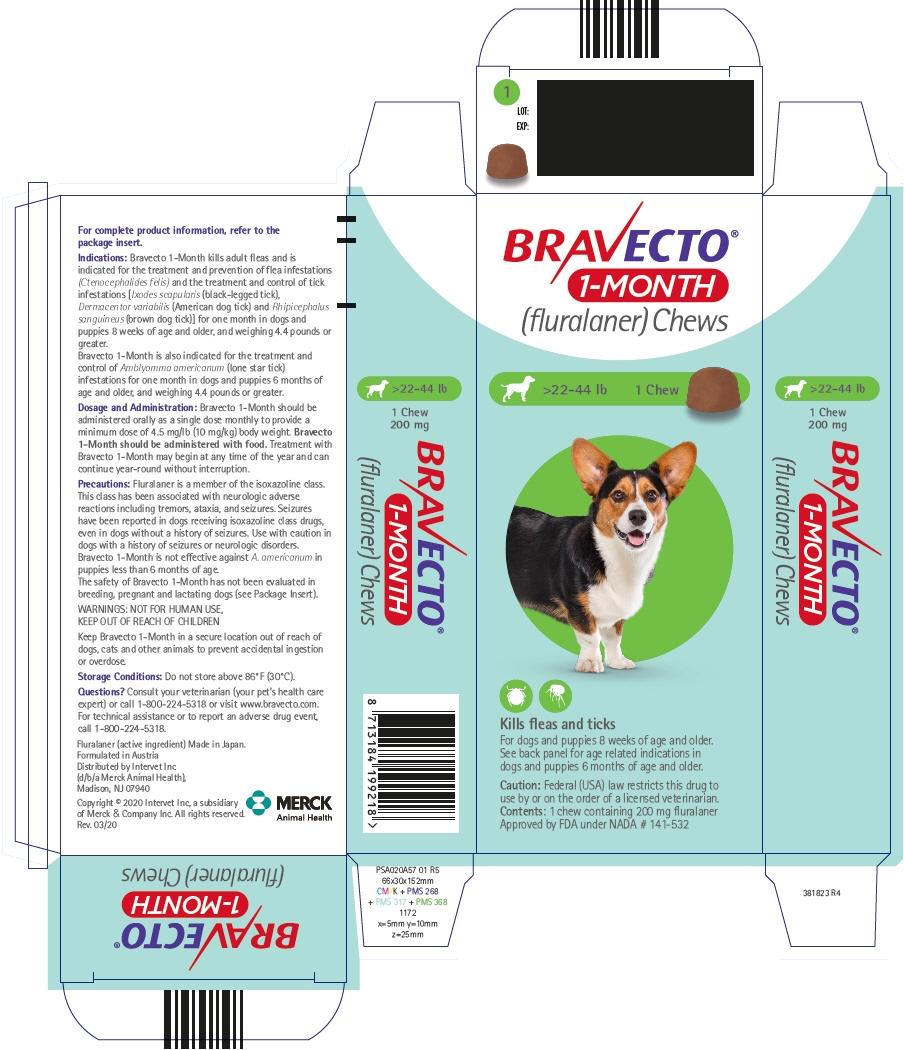 PRINCIPAL DISPLAY PANEL - 200 mg Chew Blister Pack Carton