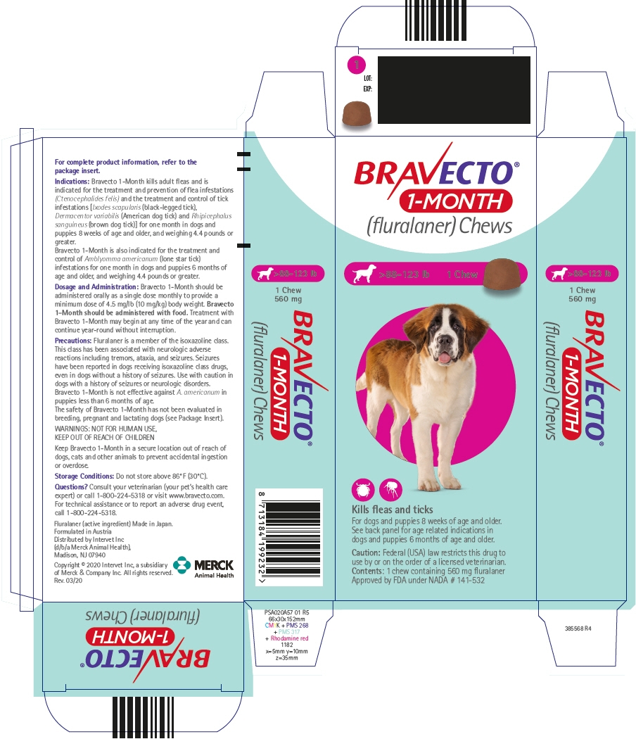 PRINCIPAL DISPLAY PANEL - 560 mg Chew Blister Pack Carton