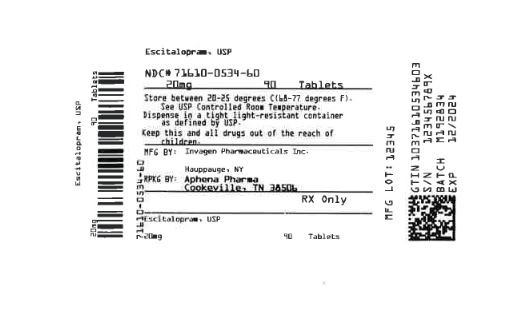 Bottle Label 20 mg