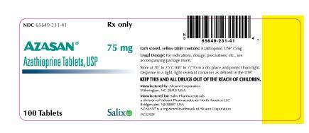 aza75mg tablets