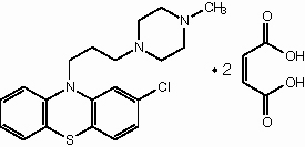 Structure of Prochlorperazine