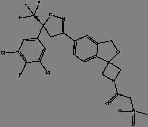 Chemical Structure of Simparica