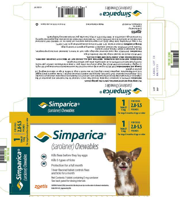 PRINCIPAL DISPLAY PANEL 5 mg Carton