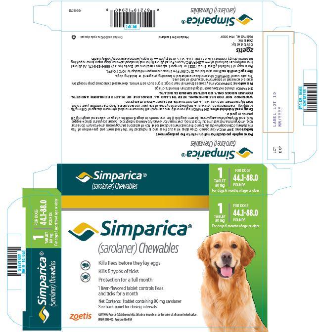 PRINCIPAL DISPLAY PANEL 80 mg Carton