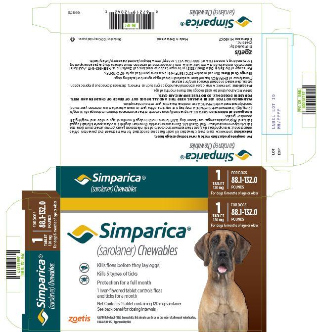 PRINCIPAL DISPLAY PANEL 120 mg Carton