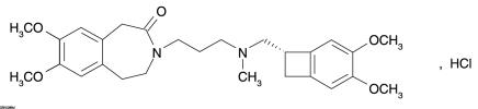 Figure 1. Chemical Structure of Ivabradine
