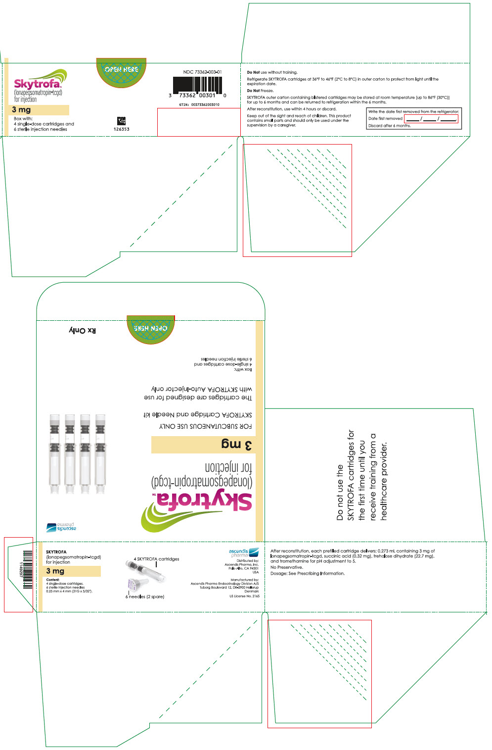 PRINCIPAL DISPLAY PANEL - 3 mg Cartridge Blister Pack Carton