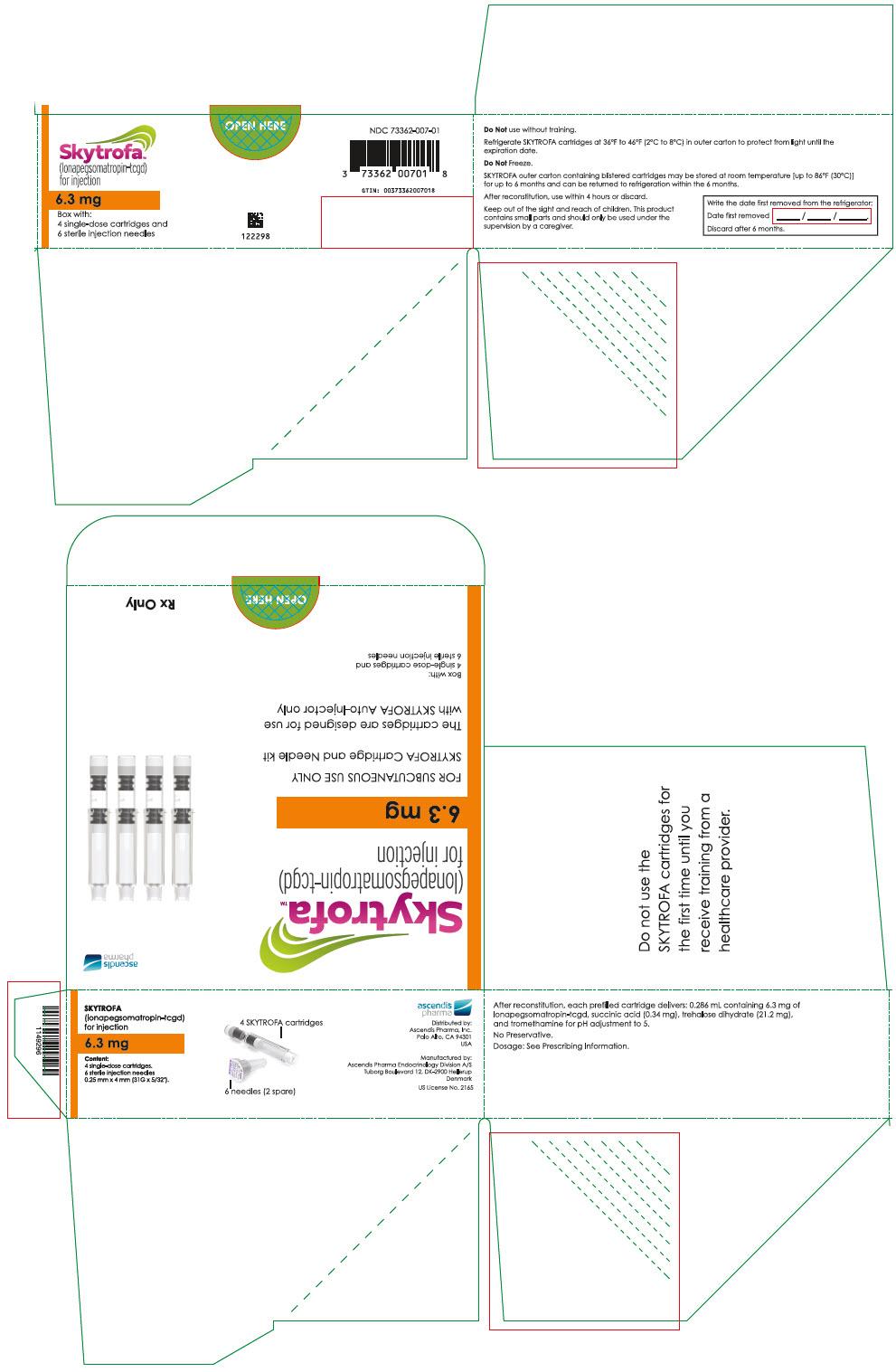 PRINCIPAL DISPLAY PANEL - 6.3 mg Cartridge Blister Pack Carton