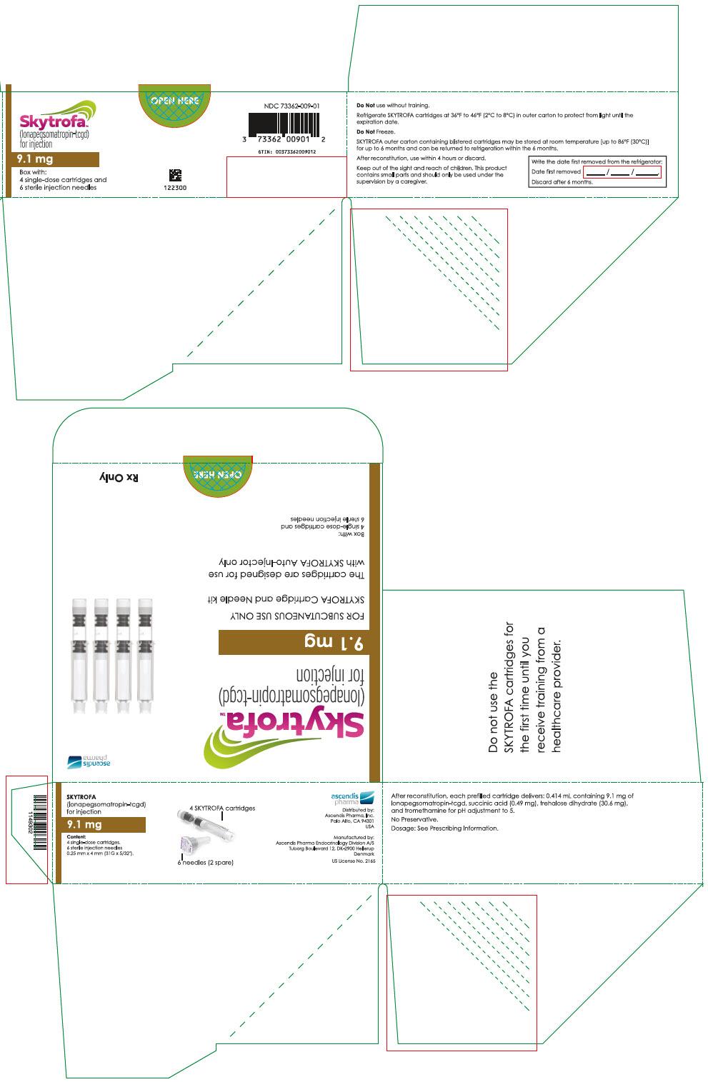 PRINCIPAL DISPLAY PANEL - 9.1 mg Cartridge Blister Pack Carton