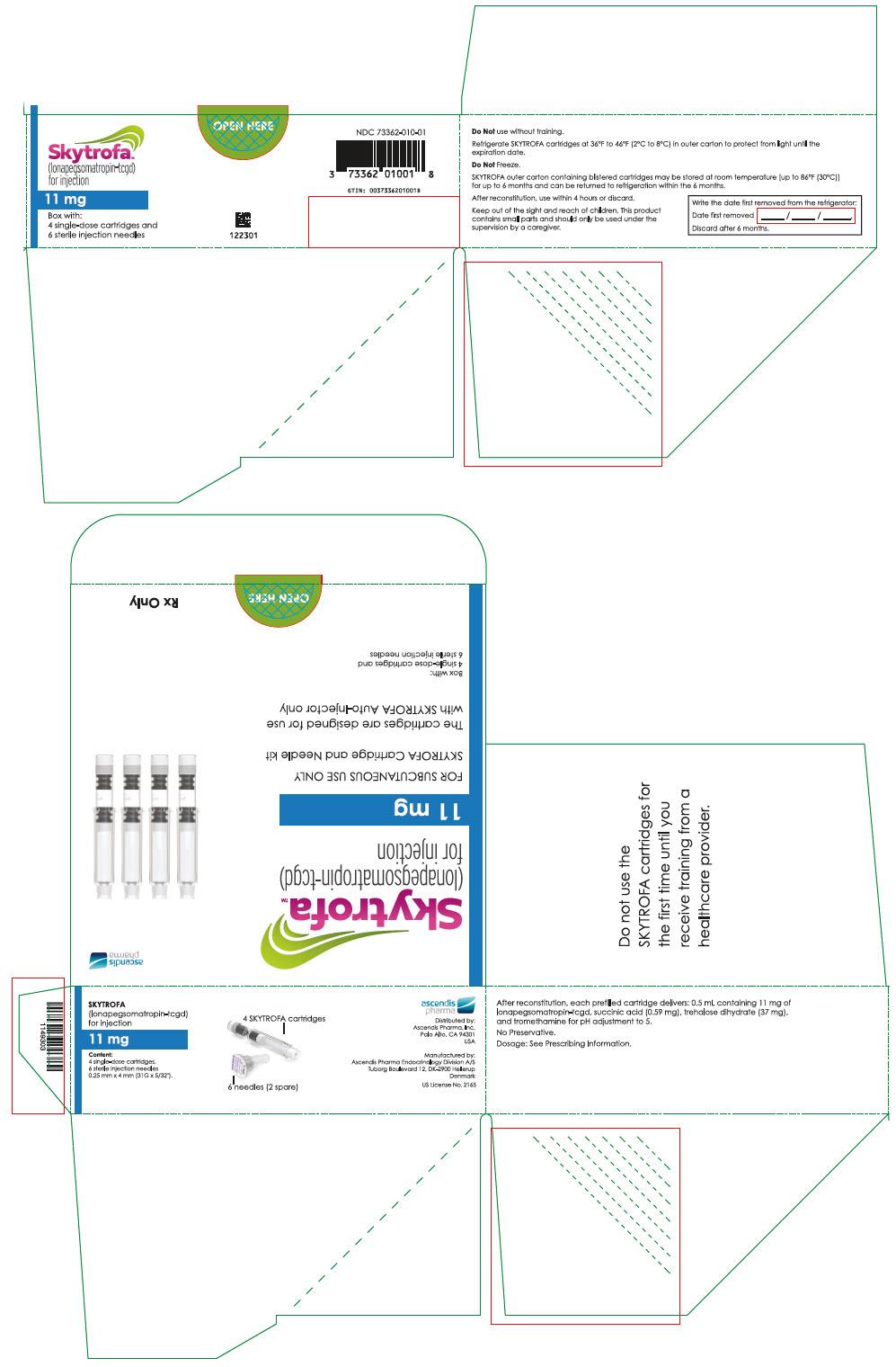 PRINCIPAL DISPLAY PANEL - 11 mg Cartridge Blister Pack Carton