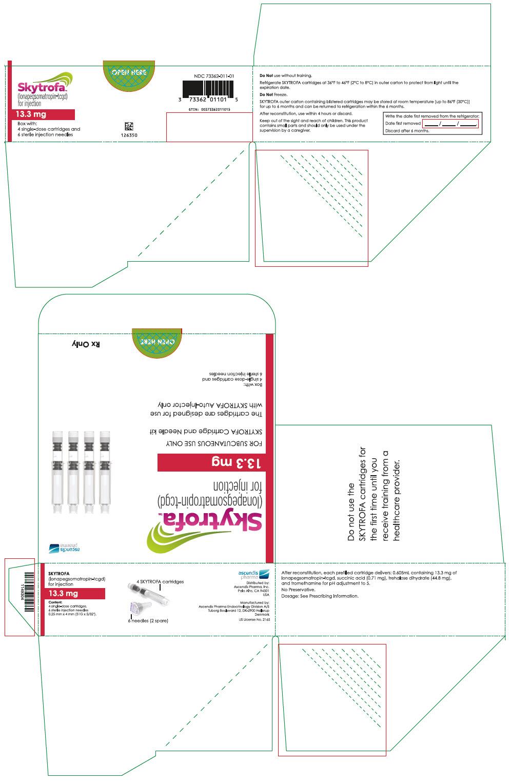 PRINCIPAL DISPLAY PANEL - 13.3 mg Cartridge Blister Pack Carton