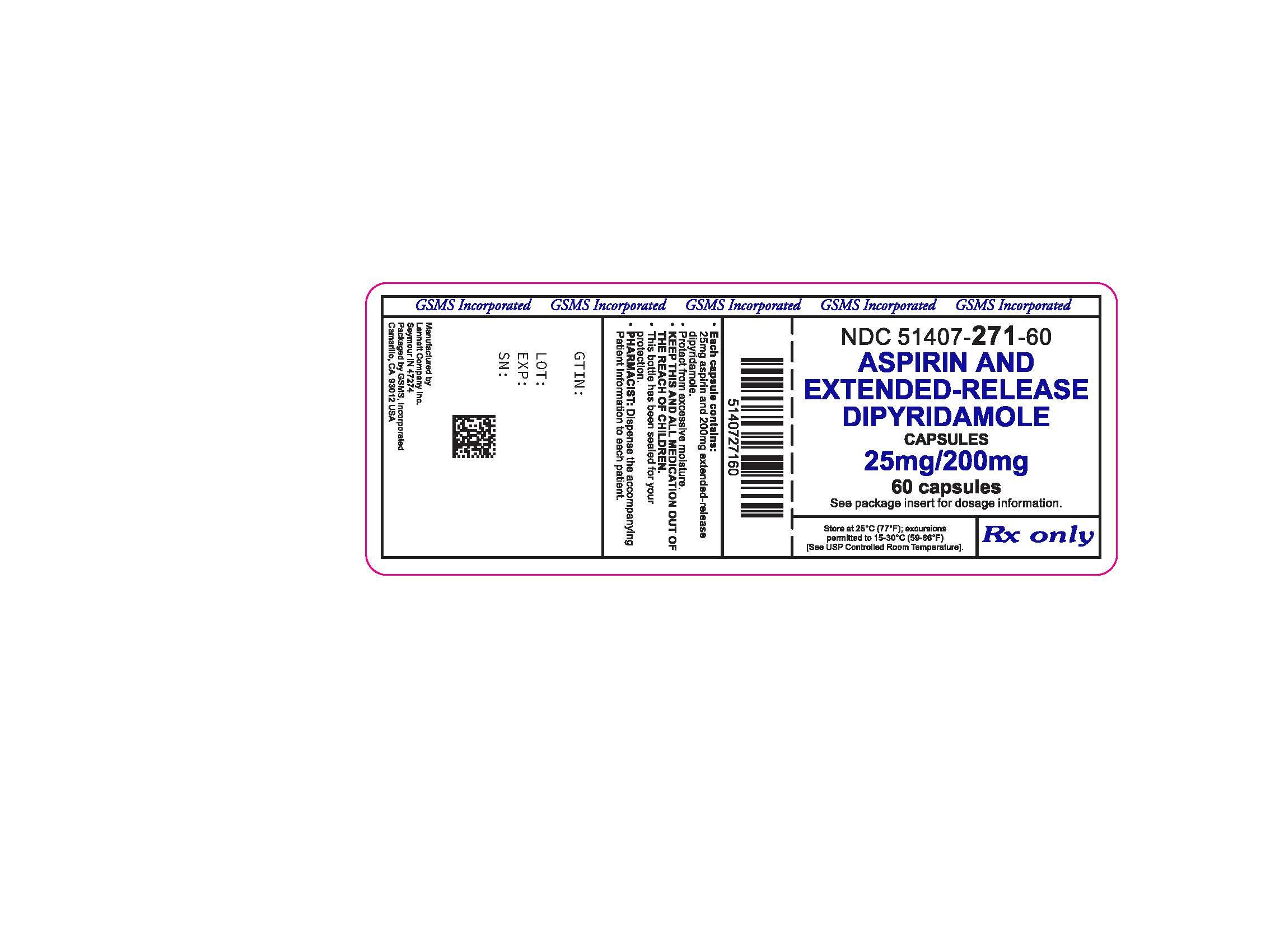 51407-271-60LB - ASPIRIN AND DIPYRIDAMOLE 25MG-200 MG ER CAPS.jpg