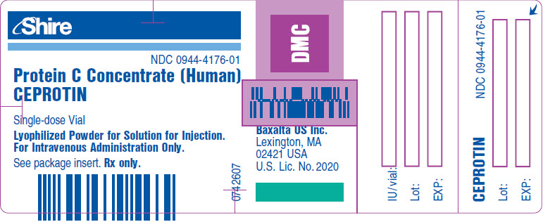 PRINCIPAL DISPLAY PANEL - 5 mL Vial Label - NDC: <a href=/NDC/0944-4176-01>0944-4176-01</a>