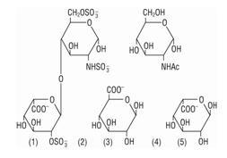 Heparin Sodium chemical structure