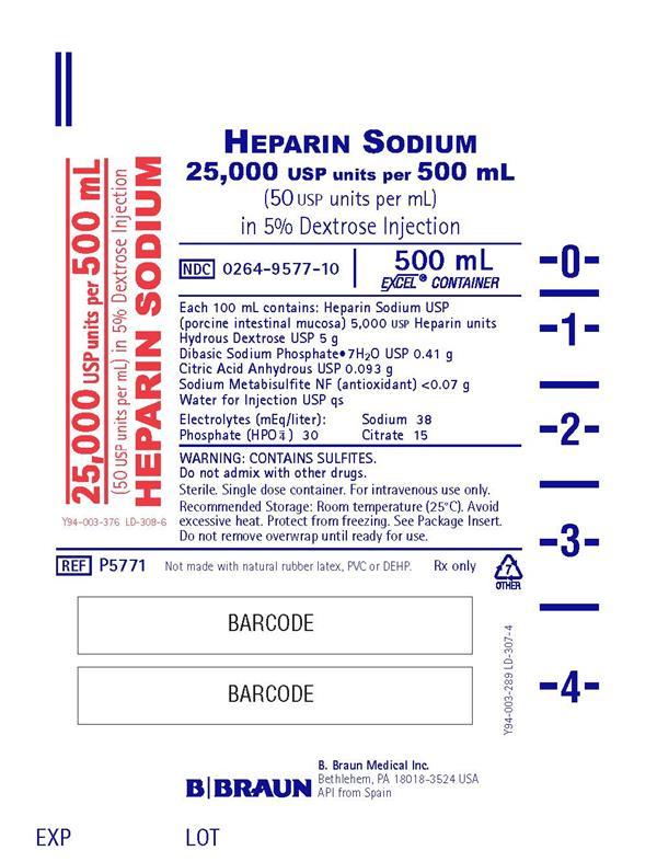 500 mL Container Label P5771