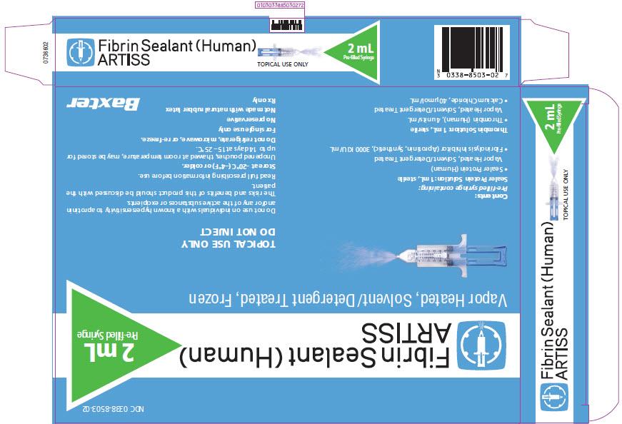 Representative 2mL Carton Label - 1 of 2   NDC: <a href=/NDC/0338-8503-02>0338-8503-02</a>
