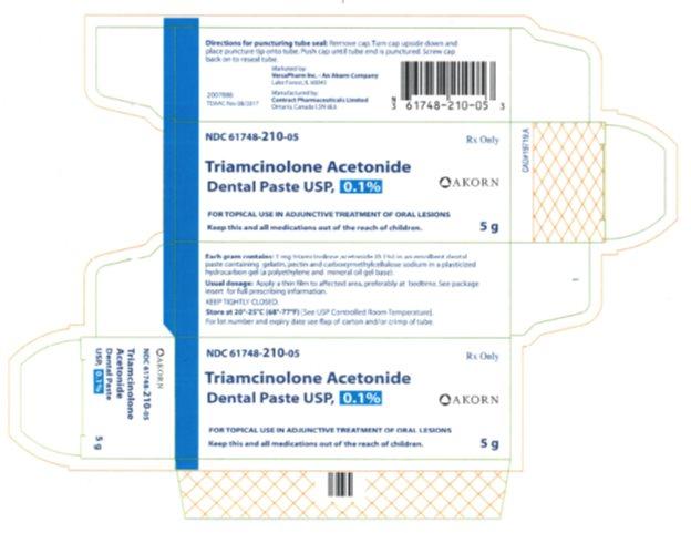 PRINCIPAL DISPLAY PANEL - 5 g Tube Carton