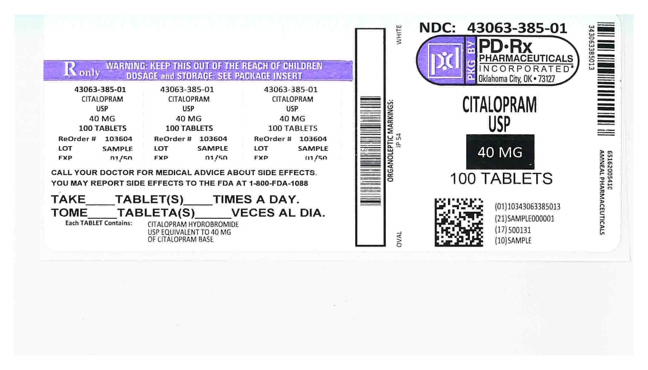 43063385 Label