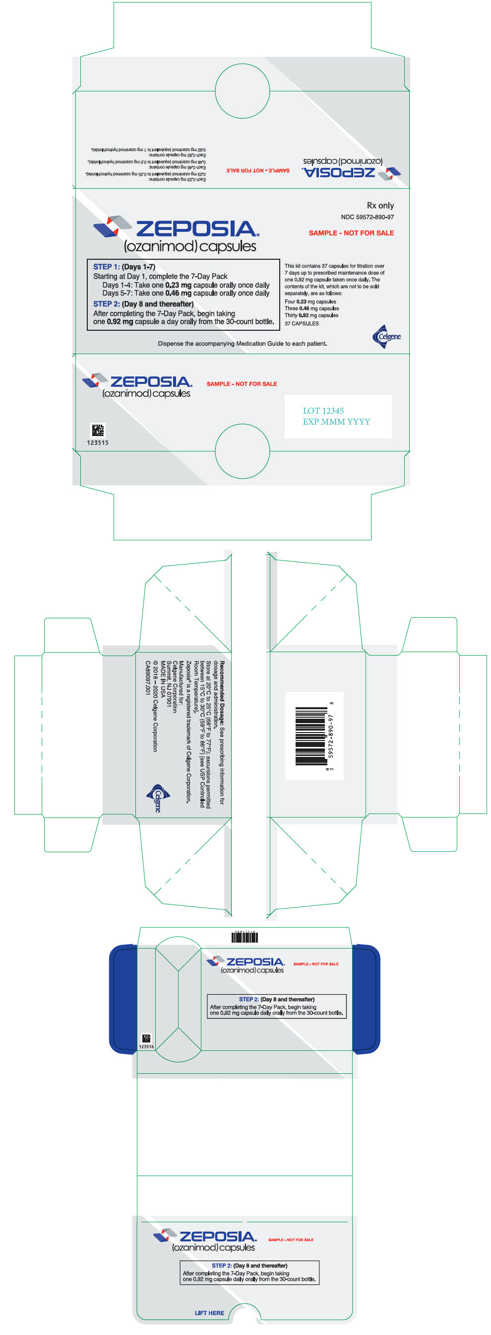 PRINCIPAL DISPLAY PANEL - Kit Carton - Sample