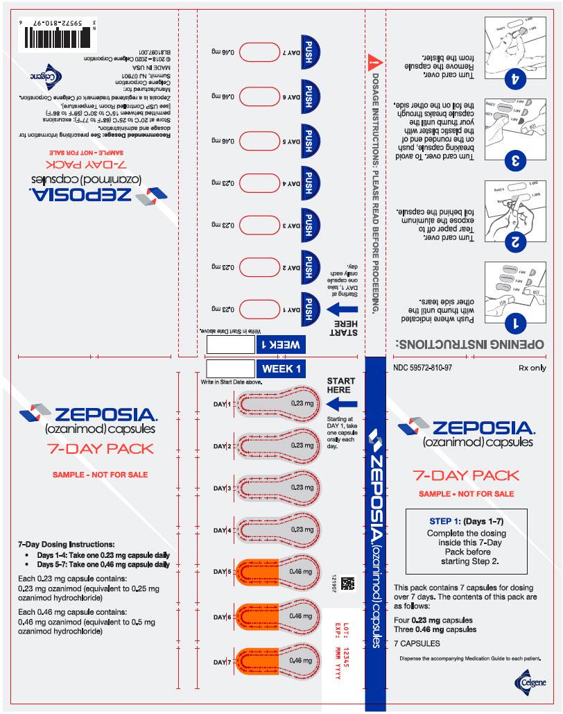 PRINCIPAL DISPLAY PANEL - 7 Capsule Blister Pack - Sample