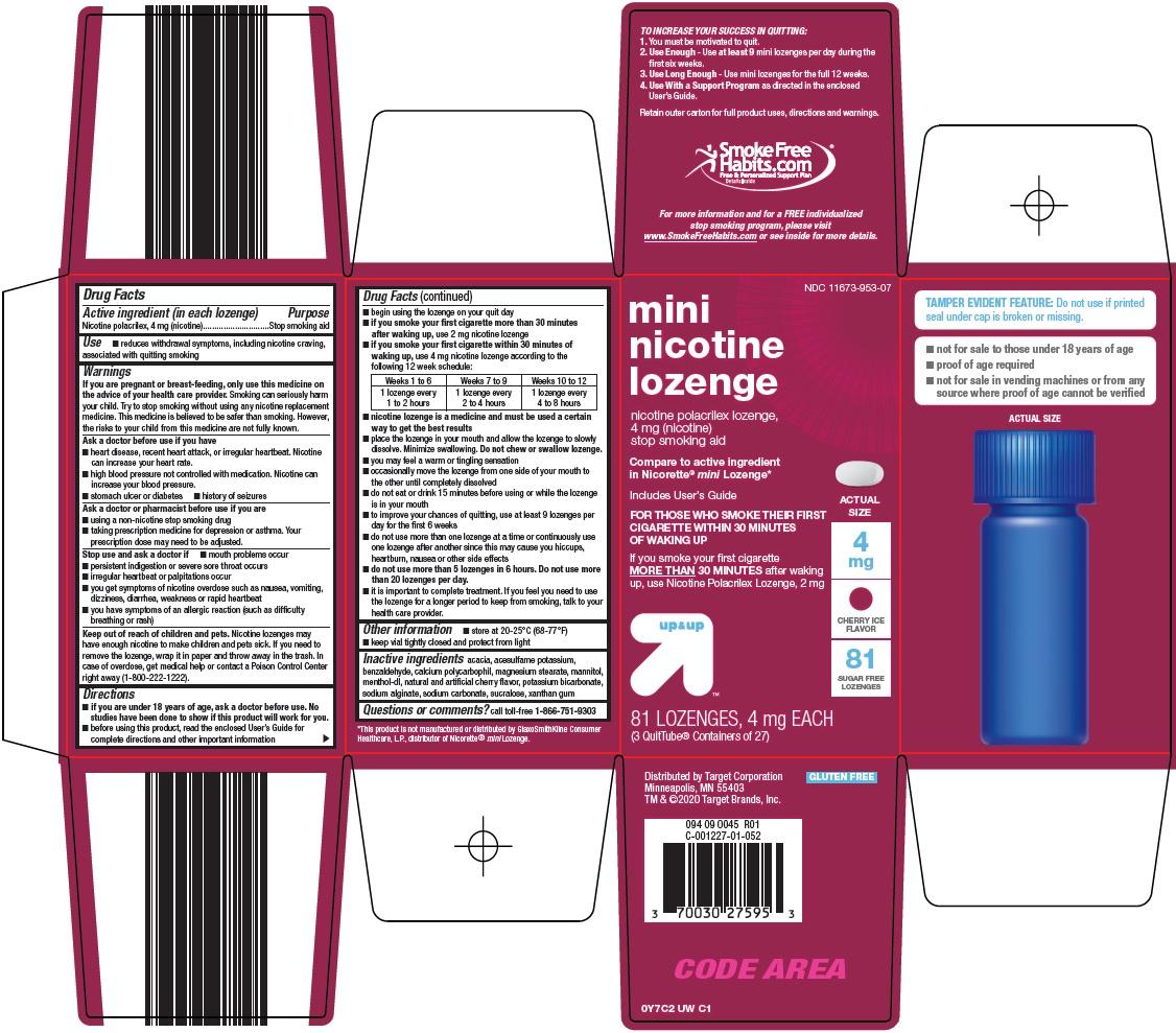 Mini Nicotine Lozenge Carton