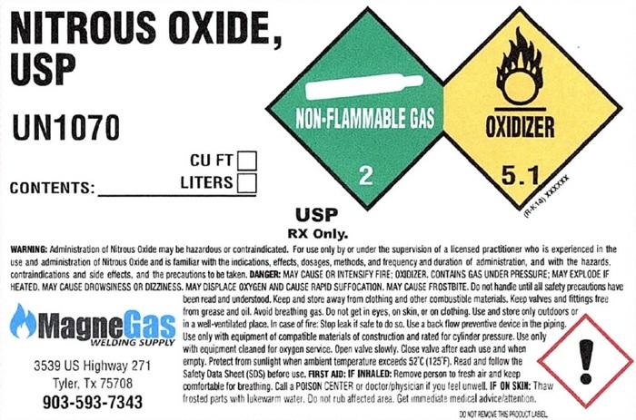 Nitrous Oxide sidewall