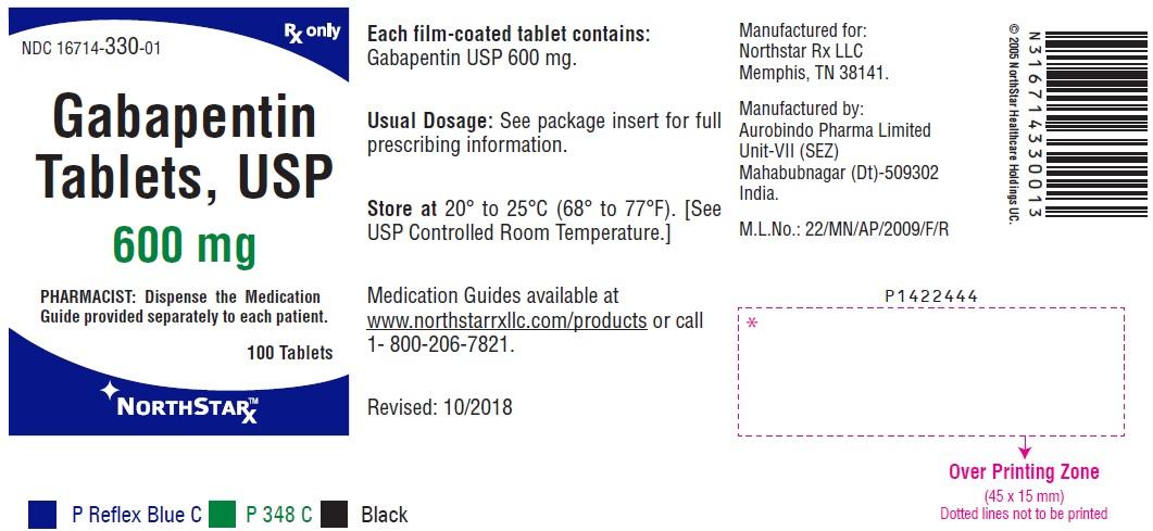 PACKAGE LABEL-PRINCIPAL DISPLAY PANEL - 600 mg (100 Tablets Bottle)