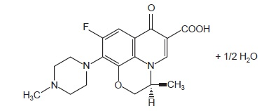 levofloxacin-spl-structure