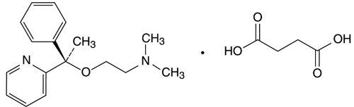 Doxylamine Succinate Structural Formula