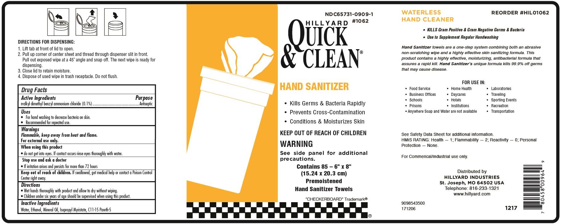 Quick & Clean Hand Sanitizer