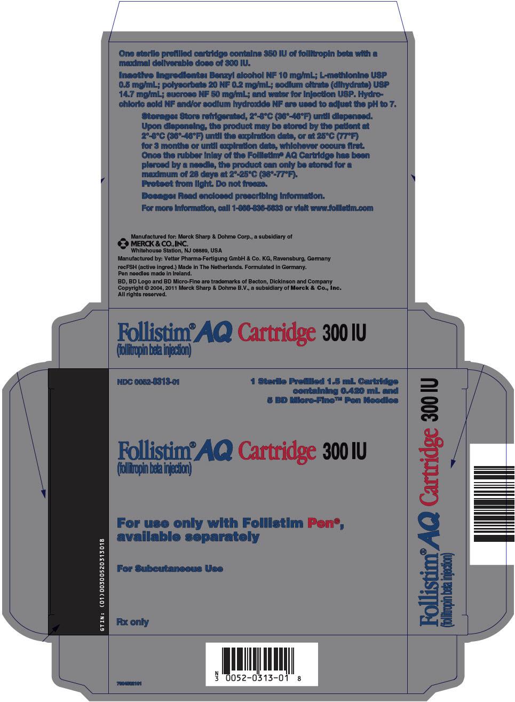 PRINCIPAL DISPLAY PANEL - 300 IU Kit Carton