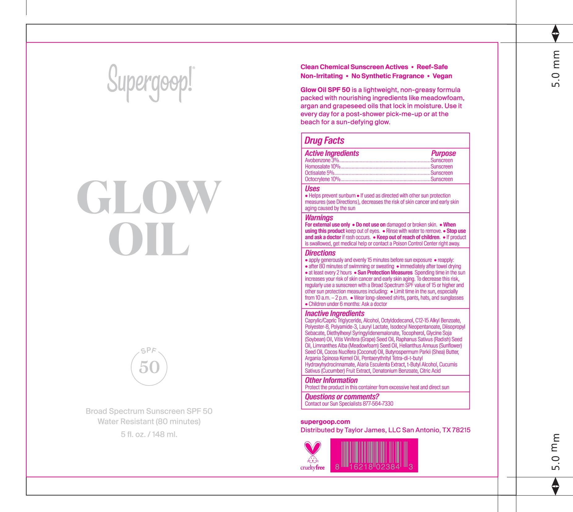 Glow Oil bottle