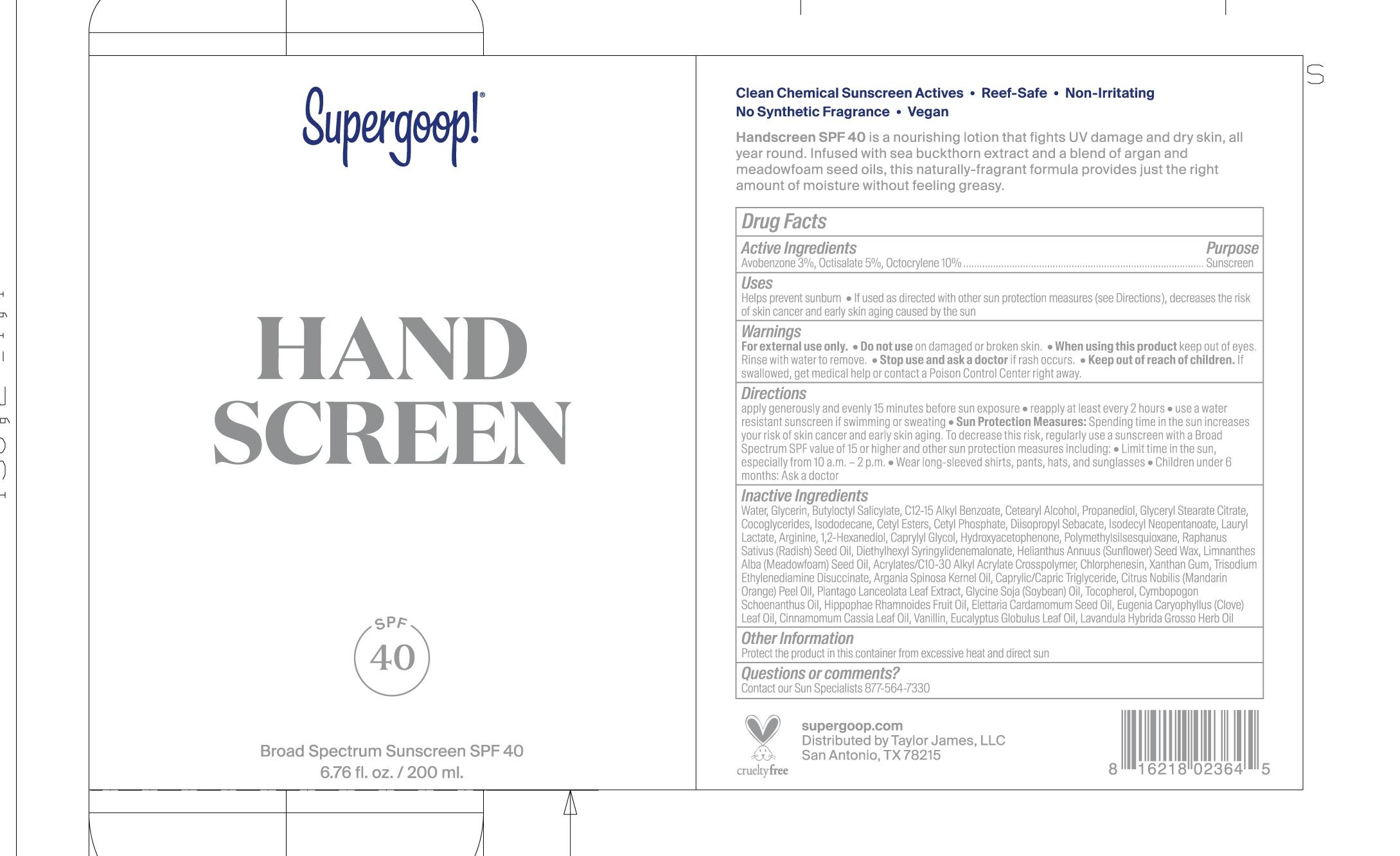 Handscreen SPF 40