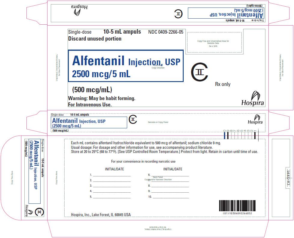 Principal Display Panel - 5 mL Ampule Carton