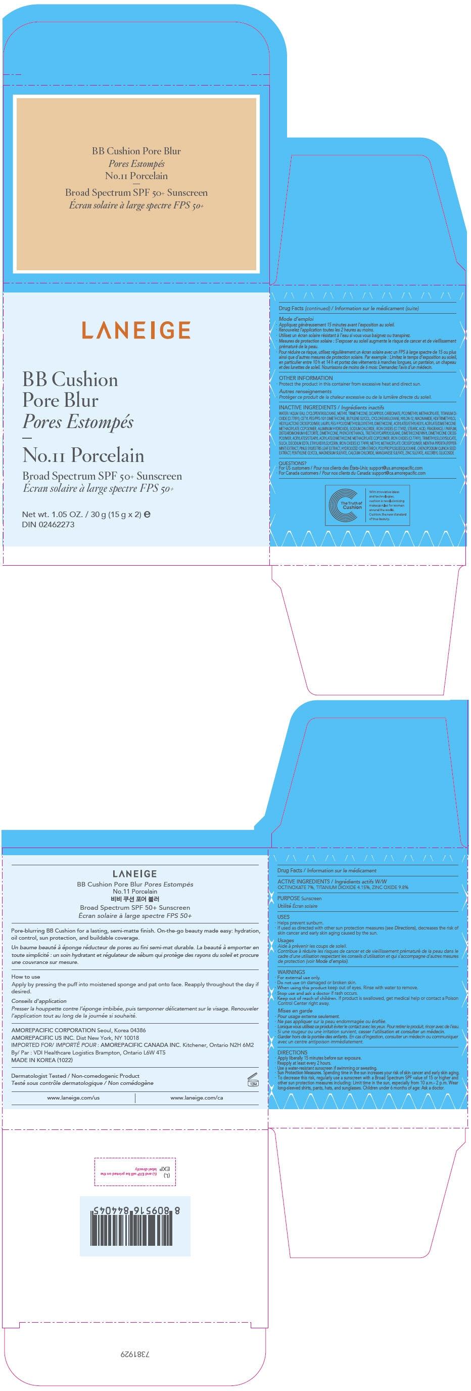 PRINCIPAL DISPLAY PANEL - 30 g Container Carton - No.11 Porcelain
