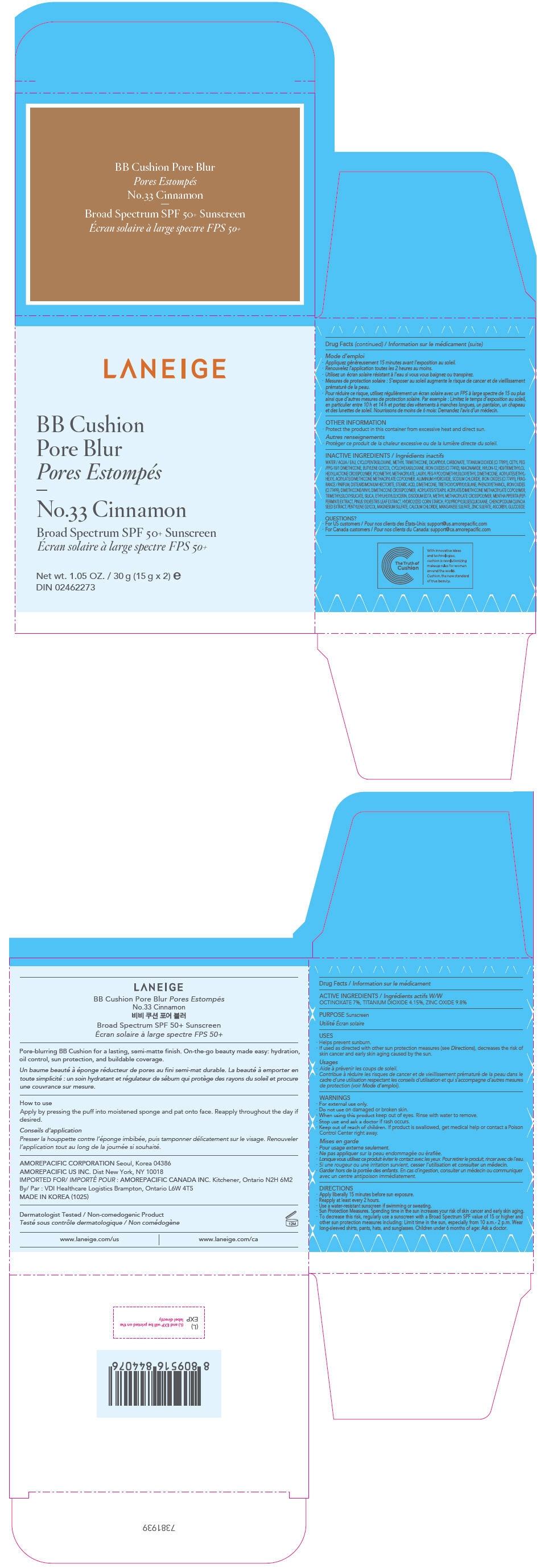 PRINCIPAL DISPLAY PANEL - 30 g Container Carton - No.33 Cinnamon