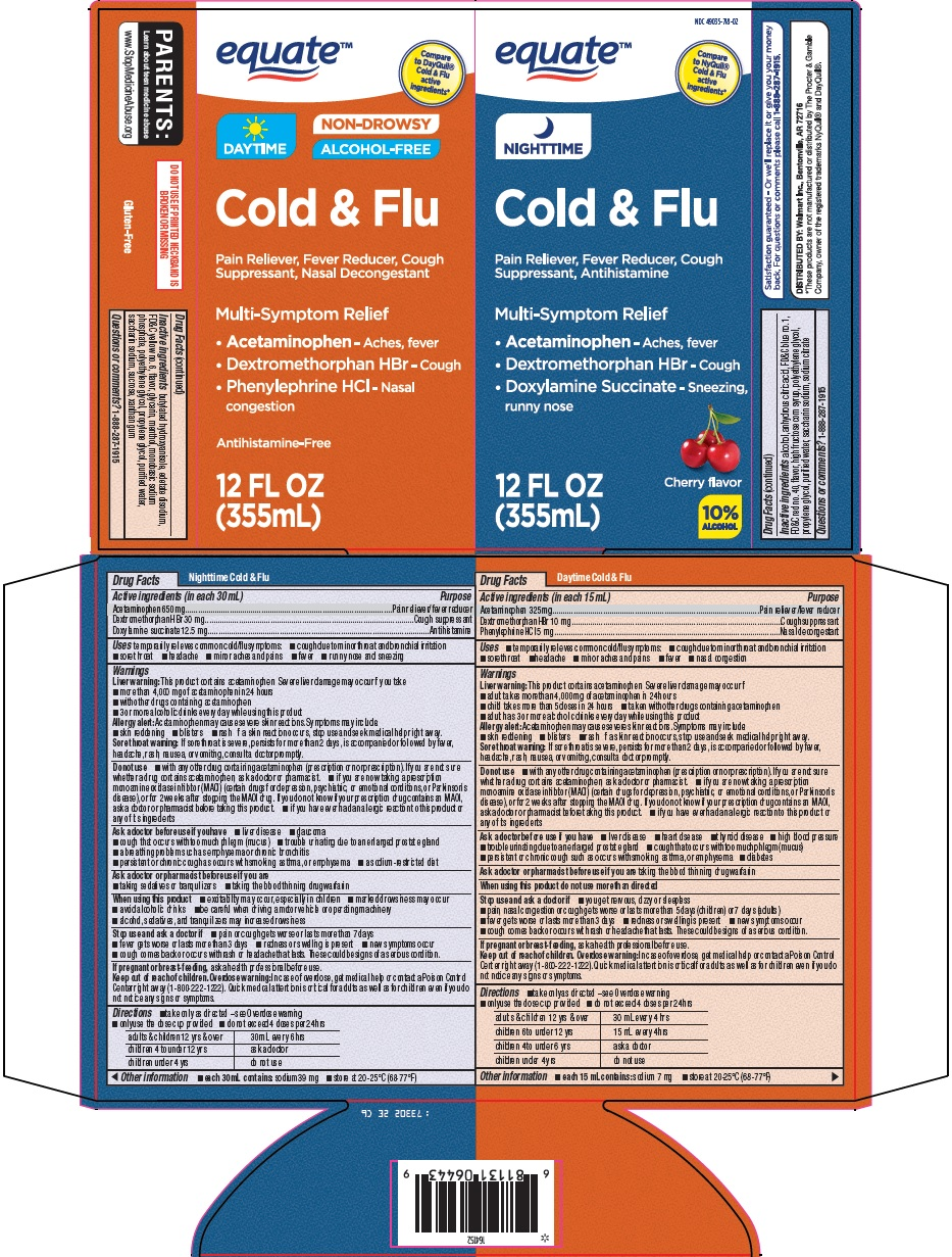 daytime nighttime cold and flu image