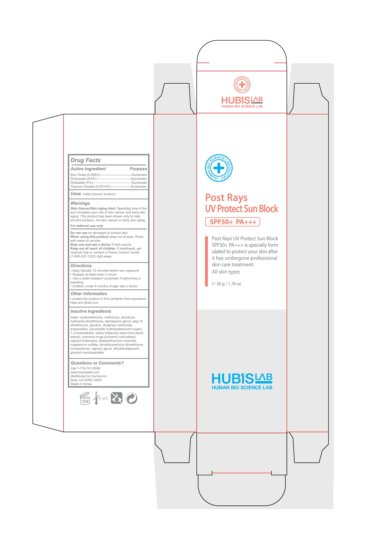 packaging with label in place