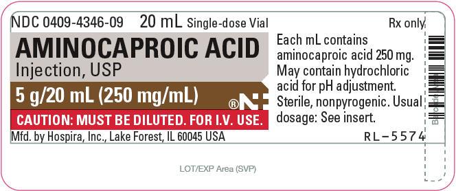 Principal Display Panel - 20 mL Vial Label