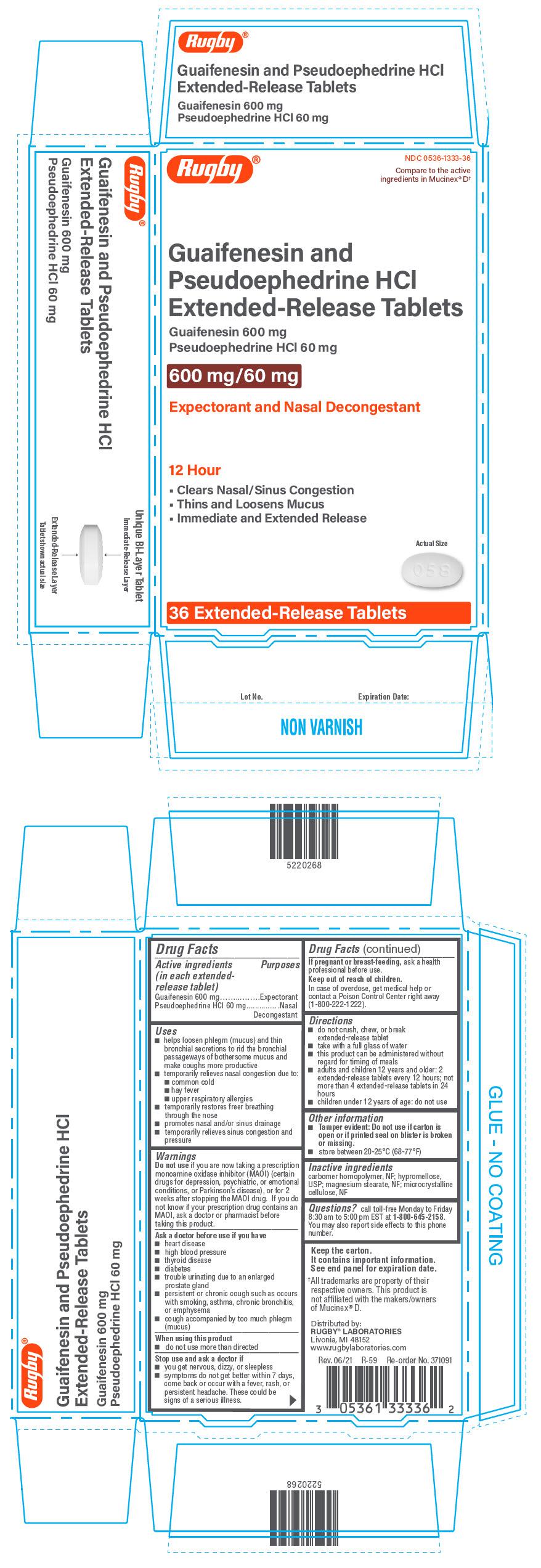 PRINCIPAL DISPLAY PANEL - 36 Tablet Blister Pack Carton