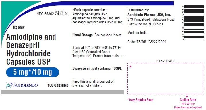 PACKAGE LABEL-PRINCIPAL DISPLAY PANEL - 5 mg/10 mg (100 Capsules Bottle)