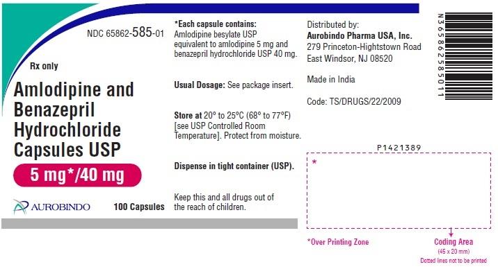 PACKAGE LABEL-PRINCIPAL DISPLAY PANEL - 5 mg/40 mg (100 Capsules Bottle)