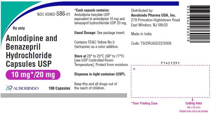 PACKAGE LABEL-PRINCIPAL DISPLAY PANEL - 10 mg/20 mg (100 Capsules Bottle)