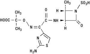 aztreonam chemical structure