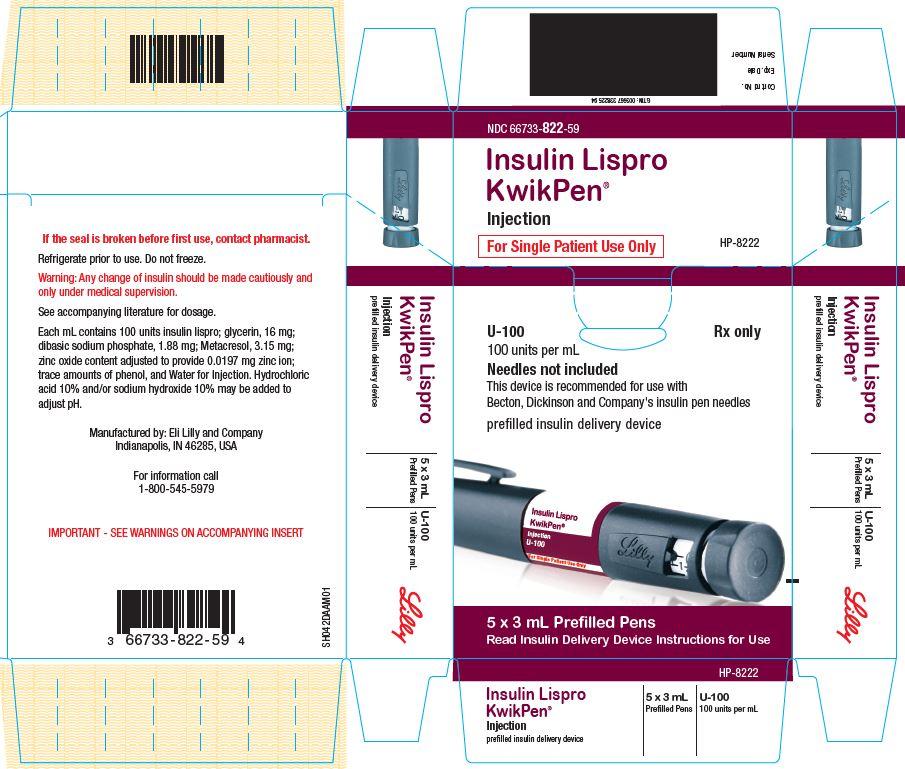 PACKAGE CARTON – Insulin Lispro KwikPen 5ct