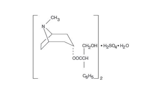 Atropine sulfate Structure